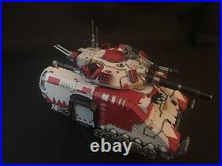 Warhammer 40K Space Marines White Scars Repulsor Executioner Tabletop Ready