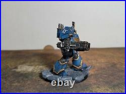 Warhammer 40K, Thousand Sons Army Contemptor Dreadnought Painted Tabletop+