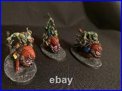 Warhammer 40k Beast Snaggas box Painted tabletop ready W Book And Cards