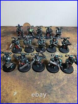 Warhammer 40k, Chaos Alpha Legion Battalion Detachment, Painted Tabletop++