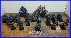 Warhammer 40k, Chaos Night Lords Outrider Detachment, Painted Tabletop++