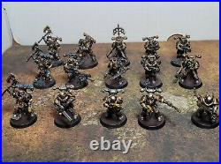 Warhammer 40k, Chaos Space Marines, Iron Warriors Army, Painted Tabletop++