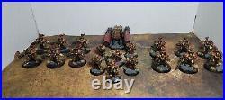 Warhammer 40k, Legio Custodes Vanguard Detachment, Painted Tabletop++ and Based
