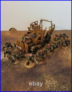 Warhammer 40k, Ork Army, Patrol. Painted Tabletop ++ and based