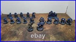 Warhammer 40k, Ultramarines Army, Patrol Detachment Painted Tabletop++