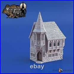 Wightwood Abbey Medieval Abbot's House Tabletop Terrain Miniature RPG War Games