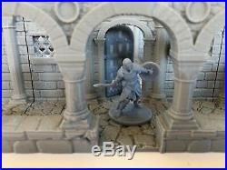 Wightwood Abbey Medieval Scriptorium Tabletop Terrain Miniature RPG War Games