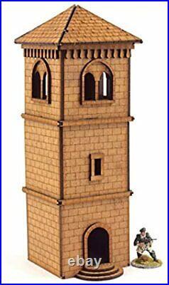Wws Belfry Watchtower Objectif 28mm MDF Set Warhammer 40K Table Top Games